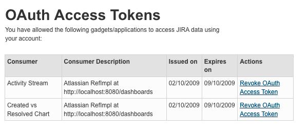 Allowing OAuth Access - JIRA 6 - CWIKI US
